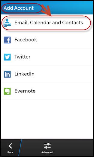 BlackBerry BB10 OS setup with Exchange 2010 (Q10/Z10/Classic